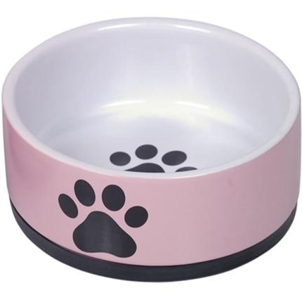 Nobby keramična posoda Paw, pink - 400 ml