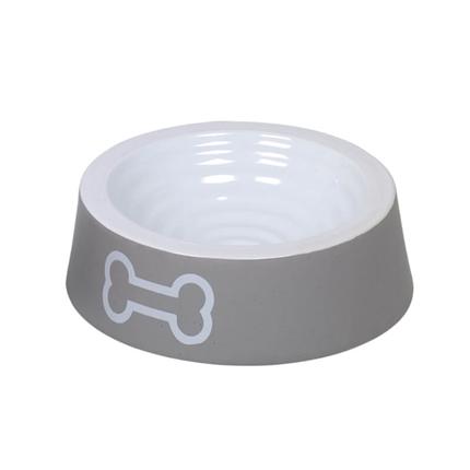 Nobby keramična posoda Kost, siva - 180 ml