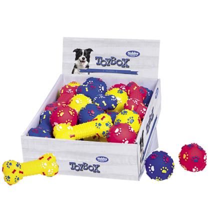 Nobby igrača žoga ali kost - 7 cm/15 cm