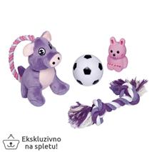 Nobby Puppy Starter Set komplet igračk - 4 kos