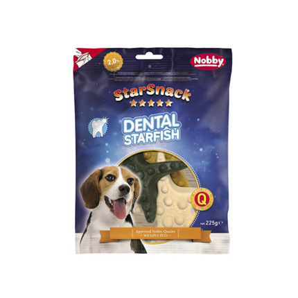 Nobby Starsnack Dental morska zvezda - 225 g