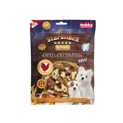 Nobby Starsnack Barbecue Mini Chicken Calcium Bone - 375 g