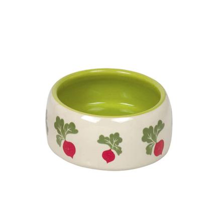 Nobby keramična posoda Redkev, belo zelena - 250 ml
