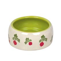 Nobby keramična posoda Redkev, belo zelena - 500 ml