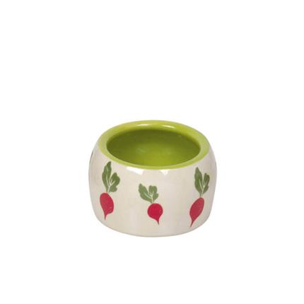 Nobby keramična posoda Redkev, belo zelena - 125 ml
