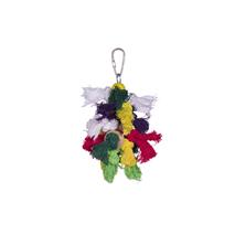 Nobby igrača za ptice, bombažne krpice - 15 x 8 cm
