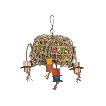 Nobby igrača za ptice, 'morska trava' - 29 x 21 cm