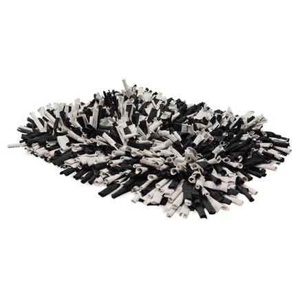 Nobby trening noskalna podlaga, sivo črna - 56 x 44 cm