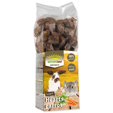 Nature Land Brunch Grainfree srčki s korenjem - 150 g