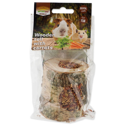 Nature Land Nibble valj s korenjem - 150 g