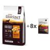True Instinct Raw Boost Adult Medium - piščanec iz proste reje 10kg + 8x300g