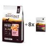 True Instinct Raw Boost Adult Medium - losos 10kg + 8x300g
