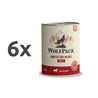 4Pet / WolfPack Adult - Angus govedina 6 x 800 g