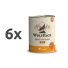 WolfPack Adult - piščanec 6 x 800 g