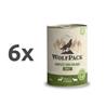 4Pet / WolfPack Adult - teletina in divjačina 6 x 400 g