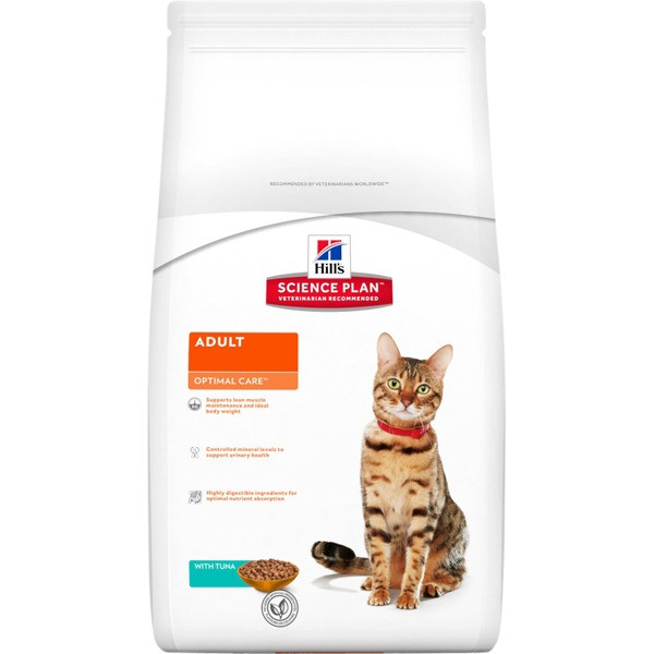 Hill's Adult Optimal Care - tuna - 2 kg
