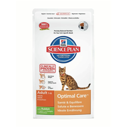 Hill's Adult Optimal Care - zajec - 2 kg