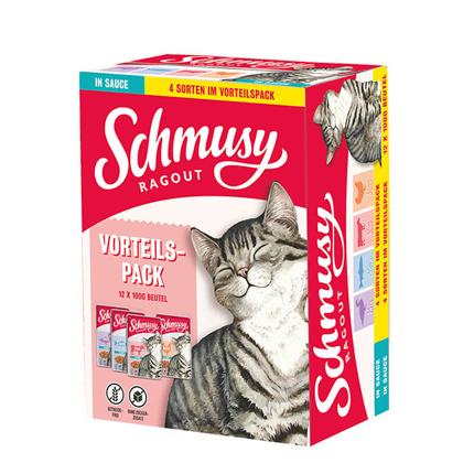 Schmusy Ragout Multibox omaka - 12 x 100 g