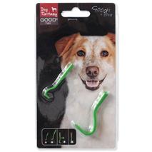 Dog Fantasy odstranjevalec klopov - 2 velikosti kaveljčkov