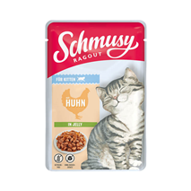 Schmusy Ragout Kitten Jelly - piščanec
