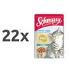 Schmusy Ragout Kitten omaka - puran 22 x 100 g