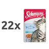 Schmusy Ragout omaka - losos 22 x 100 g