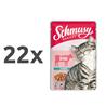 Schmusy Ragout omaka - govedina 22 x 100 g