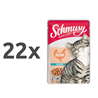 Schmusy Ragout omaka - piščanec 22 x 100 g