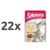 Schmusy Ragout Kitten Jelly - piščanec 22 x 100 g
