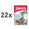 Schmusy Ragout Jelly - tuna 22 x 100 g