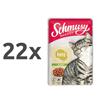 Schmusy Ragout Jelly - puran 22 x 100 g