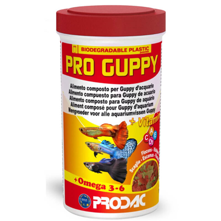Prodac Pro Guppy - 250 ml / 50 g