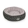 Nobby okroglo ležišče Seoli, sivo 80 cm