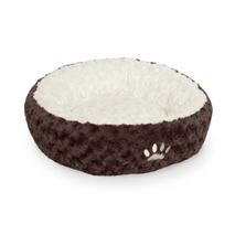 Nobby okroglo ležišče Neiku, rjavo belo - 45 cm