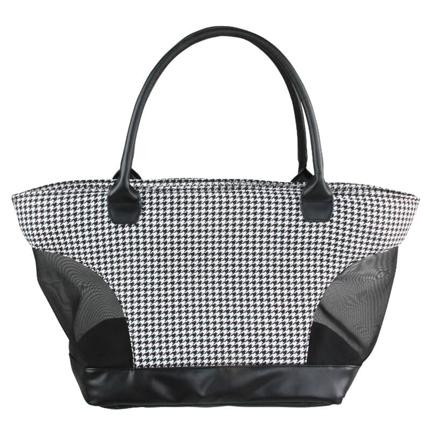 Pawise torba za pse, črno-bela - 50 x 21 x 27 cm