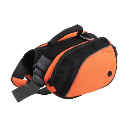 Pawise nahrbtnik za psa, oranžen, M