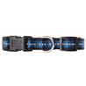 Pawise ovratnica Reflective, modra 35 - 50 cm