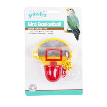 Pawise igrača za ptice, koš in žoga - 9,5 x 11 x 6 cm