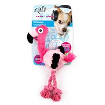 All For Paws plišasta igrača Ultrasonic flamingo - 27 cm