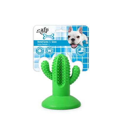 All For Paws gumi dental kaktus, zelen - 12,1 cm