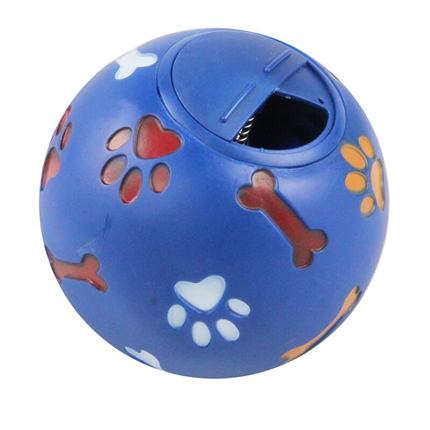 Pawise vinyl žoga za posladke, modra - 7 cm