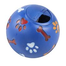 Pawise vinyl žoga za posladke, modra - 11 cm