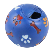 Pawise vinyl žoga za posladke, modra - 14 cm