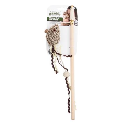 Pawise palica s plišasto miško - 35 cm