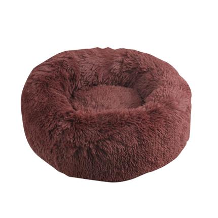 Pawise okroglo ležišče Modern, rjavo - 56 cm