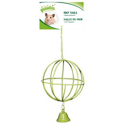 Pawise krogla za hrano z zvončkom - 10 cm