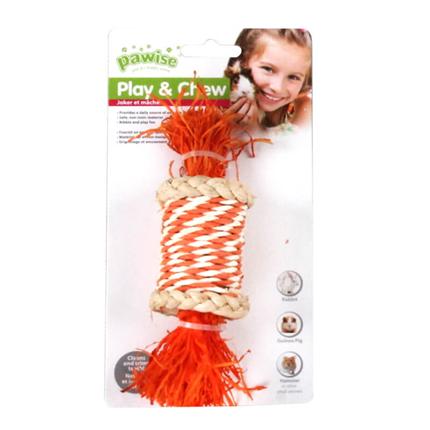 Pawise igrača za glodavce snop in koruzno ličje - 16 cm