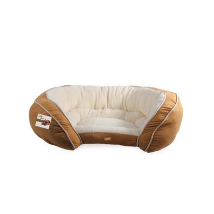 All For Paws ležišče Luxury, sv. rjava - 78 x 60 x 21 cm
