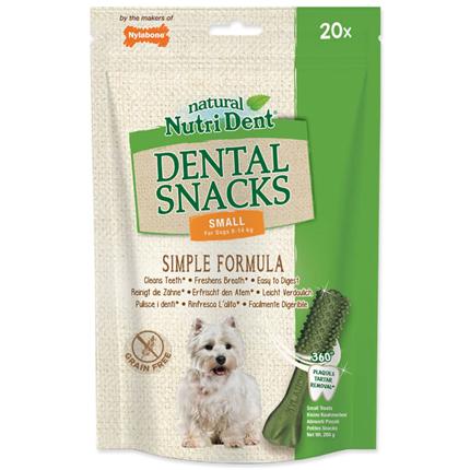 Nutri Dent Dental Snacks, S - 20 kos