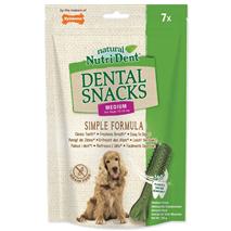 Nutri Dent Dental Snacks, M - 7 kos